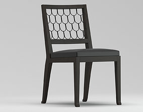 3D model Christian Liaigre Maritime Chair
