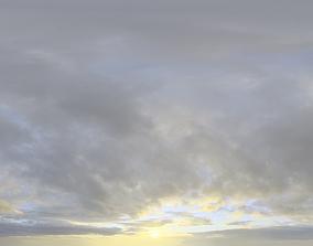 3D Skydome HDRI - Sunset Clouds II