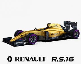 3D model Renault RS16 Car