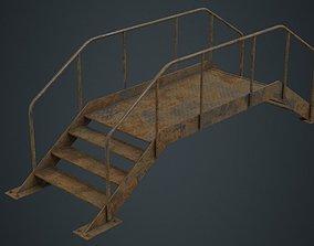 3D asset Stair 2D