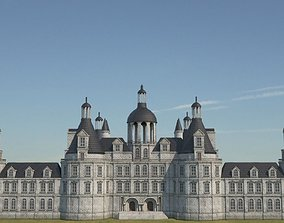 3D asset Low Poly Chateau-Castle - Inspired by Chateau 3