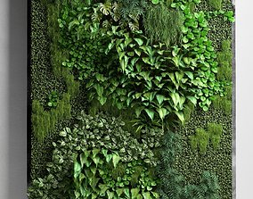 3D Vertical Garden 2 decor