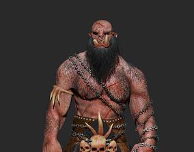 character Orc Warrior 3D model
