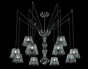 Adria chandelier by italamp 3D