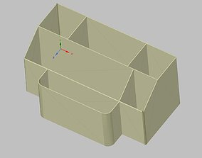 3D printable model Organizer
