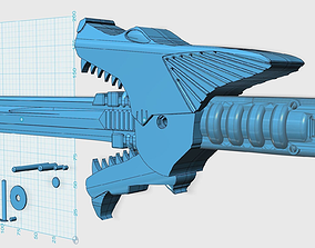 Power Rangers SPD shadow saber sword 3D printable model