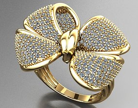 Fancy Ring 3D print model jewelry