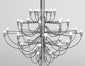 Flos 2097 chandelier 3D model