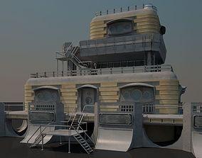 Sci-fi Building 1502 3D