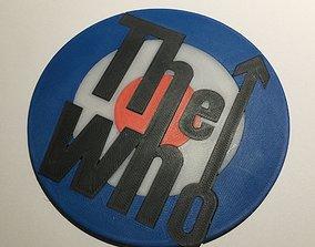 The Who Logo Coaster 3D printable model