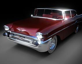 3D model racing Belair 1957