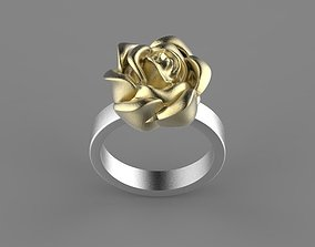 flower thorn ring 3D print model