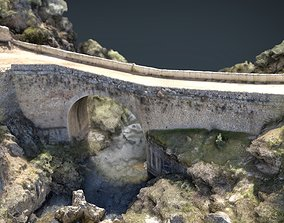 Medieval Bridge 2 3D asset