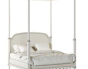 LOUIS XVI BED 3D