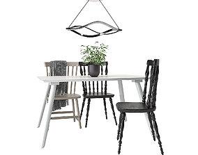 Dining Furnitures Set 41 3D