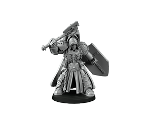 Space Attackers 3D printable model angel