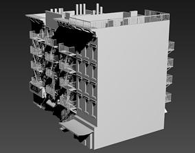 Residential building New York 3D model