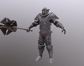 3D asset Bloody Knight