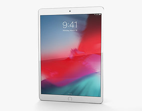 3D Apple iPad Air 2019 Silver