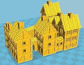 Medieval Houses 17 3D print model