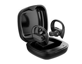 Custom Wireless Earbuds 3D model
