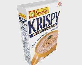 3D asset Sunshine Krispy Soup Oyster Crackers